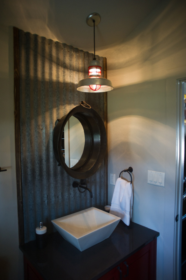 Qa with jewel ty murray39s designer about lighting for Barn lights for bathroom
