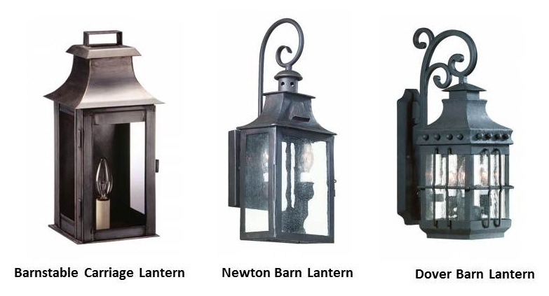 A Classic Colonial Carriage Lantern Creates Warm Welcome Home Blog BarnLi