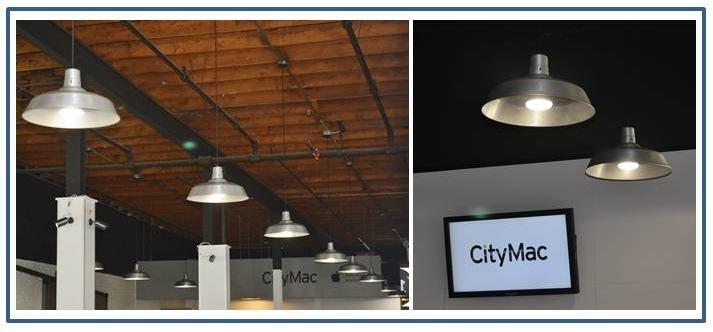 Stylish Barn Lights Add Flavor To Computer
