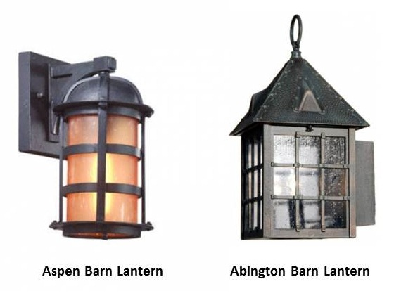 American made outdoor lighting giveaway american made lighting by barn lanterns add sophistication style to home business blog aloadofball Choice Image