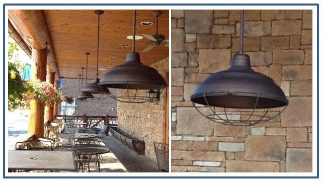 Warehouse pendants boost rustic ambiance at nc restaurant blog warehouse pendants boost rustic ambiance at nc restaurant mozeypictures Images