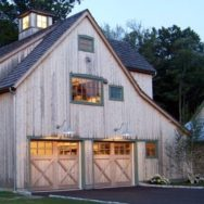 Gooseneck Warehouse Shades Accent Barn-Style Garage