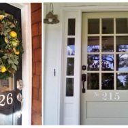 Steel House Numbers Bring Both Style and Attention to Your Door