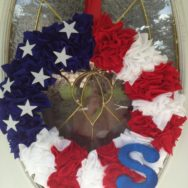 DIY Decor for Your Home: Americana Wreath