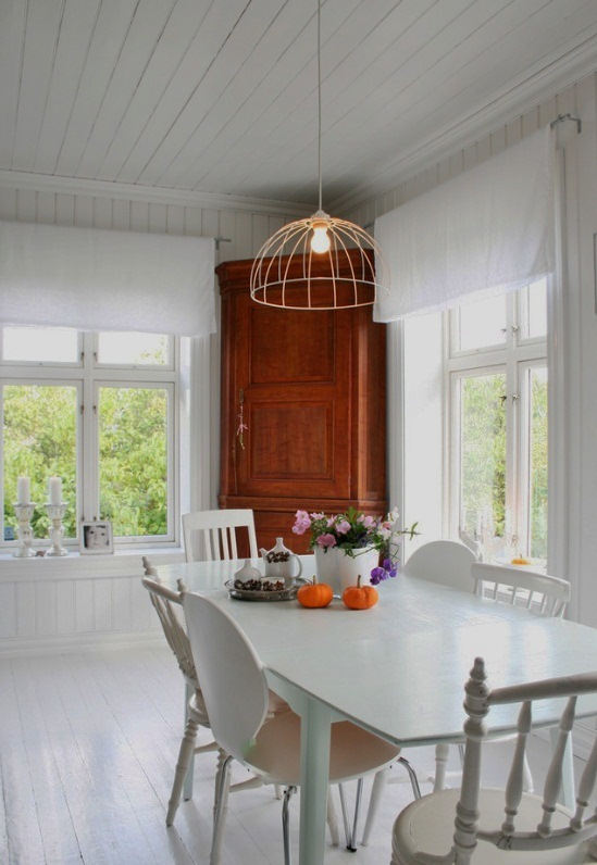 We Love The Look Of This Dining Room Fixture Which Closely Resembles Our Wire Dome Pendant Lamp Part New Collection Apartment Lighting