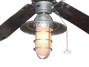 Rustic Ceiling Fan Light Create Cool Relaxed Mood On