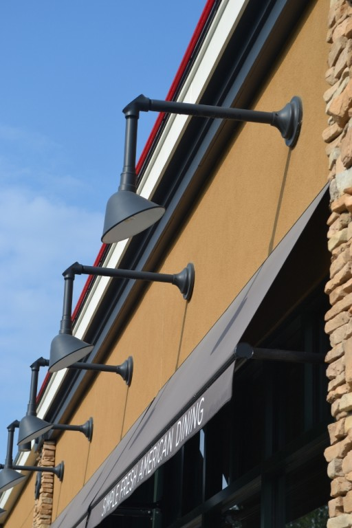 Gooseneck lighting offers options for commercial businesses blog gooseneck lighting offers many options for commercial businesses aloadofball Image collections