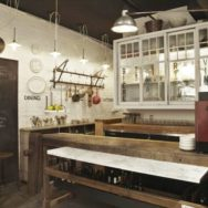 Vintage Lighting for Toronto Eatery Adds to Quirky Atmosphere