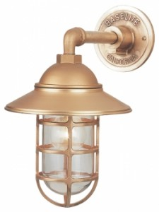 Available In Both Small And Large Sizes, This American Made Wall Sconce  Works Well In Tight Spaces Such As This, Or Used In Pairs On Either Side Of  A ...