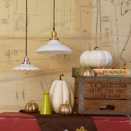 Vintage Lighting Featured in This Weekend's Fall for Vintage Sale
