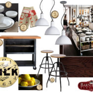 Style Me Sunday: Industrial Modern Kitchen