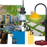 Style Me Sunday: Curb Appeal Bright Entryway