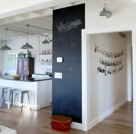 Barn Wall Sconce Brings Relaxed Style to Busy Kitchen ...