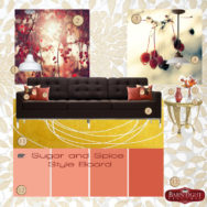 Style Me Sunday: Sugar & Spice Style Board