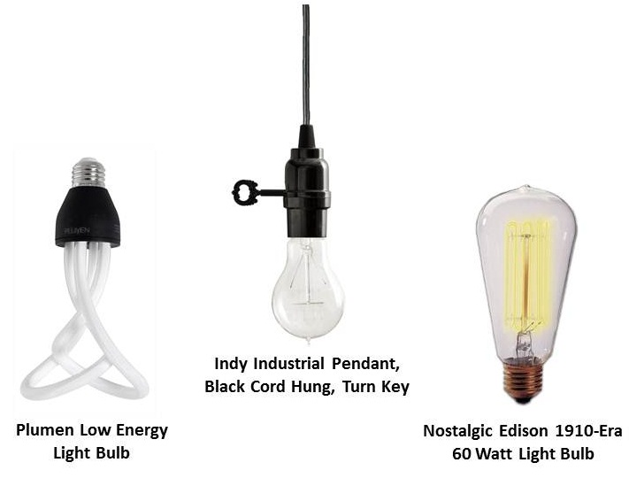 light bulb it may save you lots of money on your electric bill but it doesnu0027t scrimp on style using these bulbs will make any fixture a focal point in - Vintage Light Bulbs