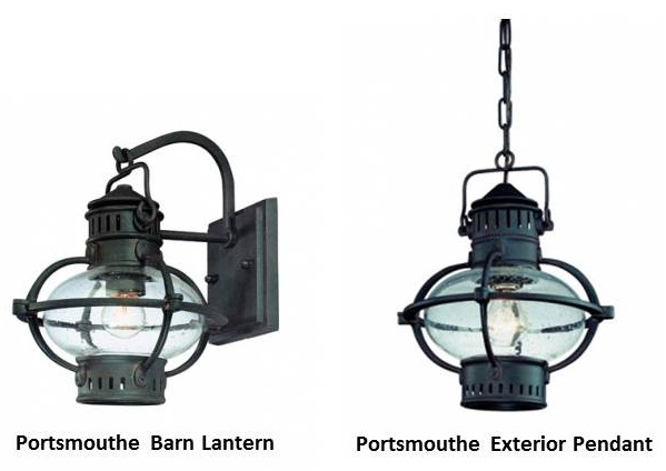 Outdoor lighting with lanterns adds old world charm blog constructed from rugged hand forged iron this pendant comes in both medium and large sizes and would be a beautiful addition to entryways carriage houses aloadofball Images