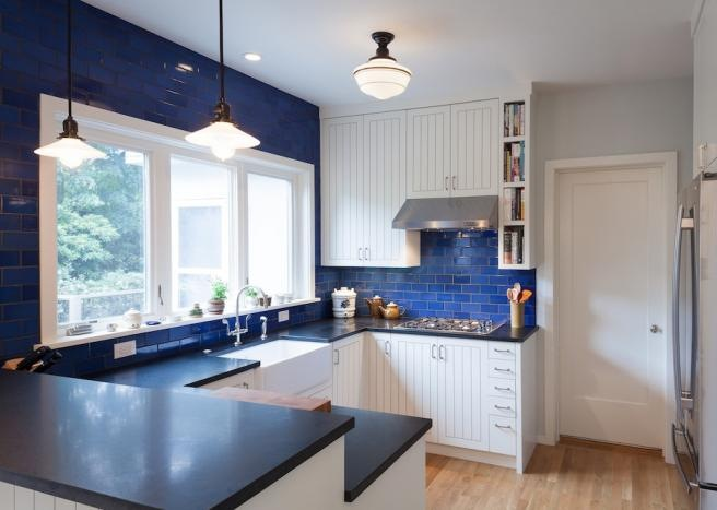 A Kitchen With Vintage Character: Vintage Pendants Add Charm, Character To Remodeling