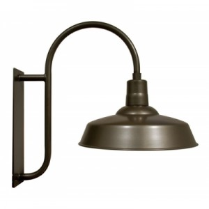 Welcoming Patrons To The Patio Is A Classic Light One That Looks Very Much Like The Hitchen Post Warehouse Gooseneck Light