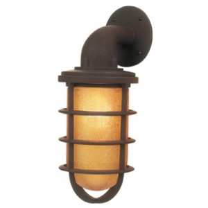 Rustic Industrial Wall Sconces : Wall Sconces Give Rustic Touch to Designer's Master Bathroom Blog BarnLightElectric.com