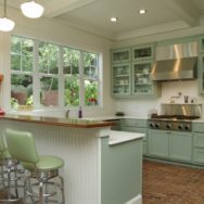 Schoolhouse Shades Lend Texas-Sized Style to Austin Kitchen