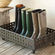 Industrial Decor Tackles Wintertime Duties With Style