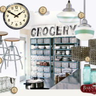 Style Me Sunday: Vintage Industrial Kitchen Storage