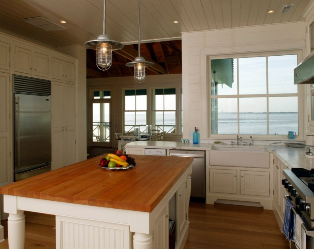 Professional S Corner Rustic Pendants For A Coastal Beach House
