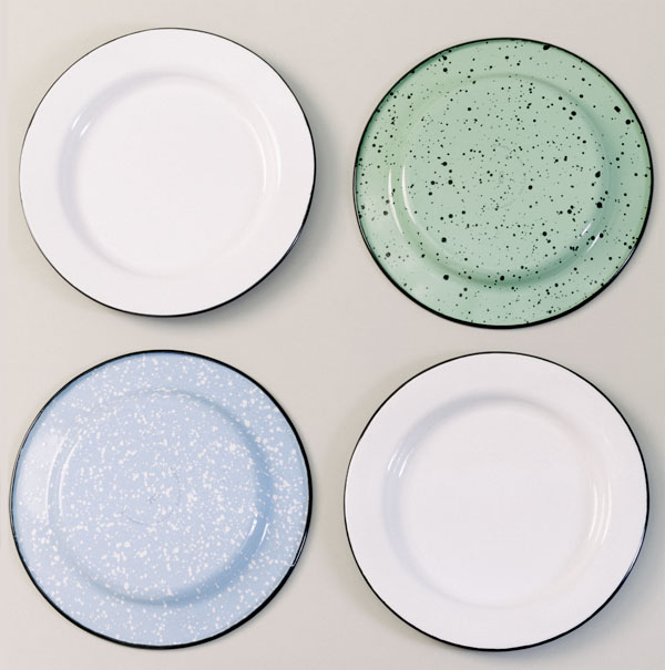 Porcelain Enamel Dinnerware Comes To Barn Light Electric