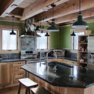 Professional's Corner | Green Builder Gets Rustic Look With Porcelain Enamel Lighting
