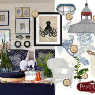 Style Me Sunday: Nautical Inspired Coastal Cottage Living Room
