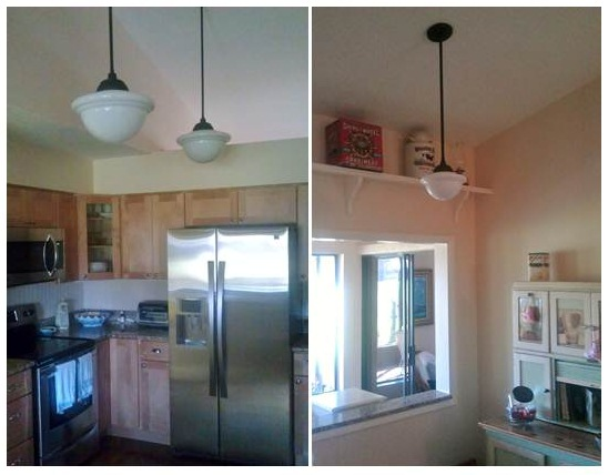 Schoolhouse lights kitchen 28 images kitchen lighting pendants and lanterns interiors by - Schoolhouse lights kitchen ...