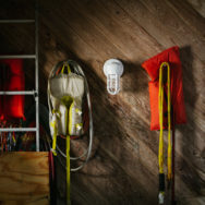 New Industrial Wall Sconces, Pendants Show Off Chunkier Profile