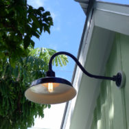 Featured Customer | Gooseneck Lights Bring Historic Touch to Conch-Style House