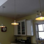 Featured Customer | Porcelain Jadite Pendants for A Modern Farmhouse Kitchen