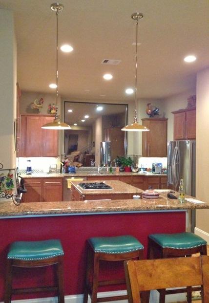 Stem Amp Loop Pendants Lend Art Deco Vibe To Texas Kitchen Blog Barnlightelectric Com
