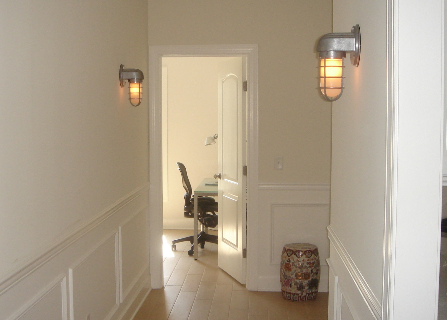 hallway sconce lighting. Featured Customer | Rustic Industrial Wall Sconces Add Nautical Style To New Home Hallway Sconce Lighting G