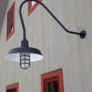 Classic Gooseneck Lights Lend Barn Style to New Vermont Home