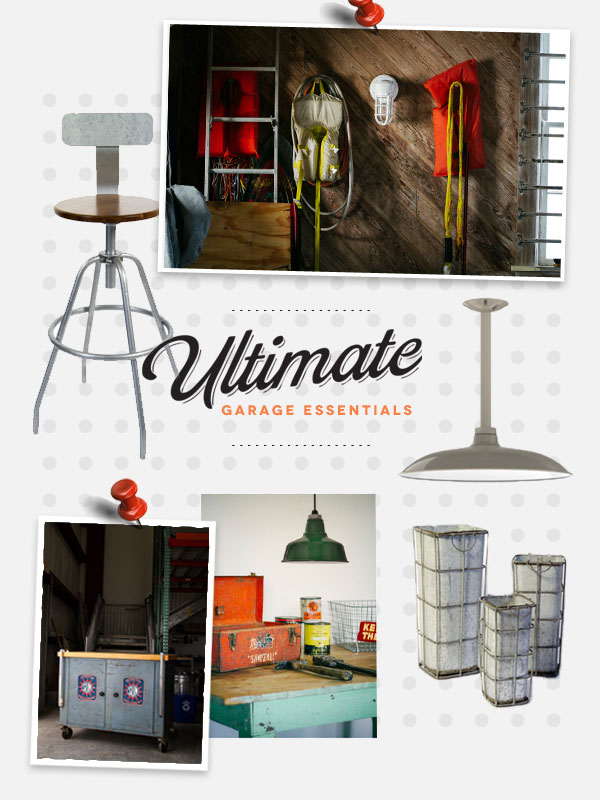 Style Me Sunday: Ultimate Garage Essentials from Barn Light Electric