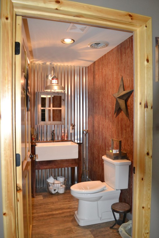 Barn light electric photo gallery bath powder room Bath barn