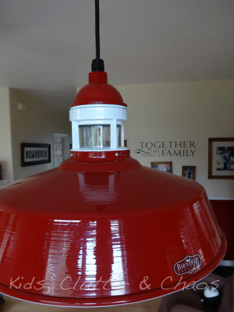 Top Red Industrial Pendant Ties In With 1950s Diner-Style Table | Blog  GT43