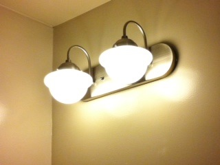 Featured Customer Schoolhouse Lights For Early 20th Century Bath Remodel