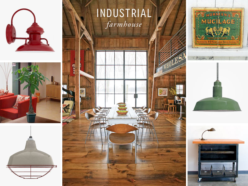 Style Me Sunday: Industrial Farmhouse Loft | Blog.Barnlightelectric.com