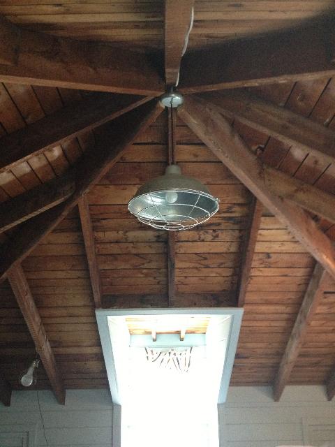 Warehouse Pendant Farm Lights Bring Barn Style To Cape Cod
