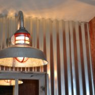 Wire Guard Pendant, Gooseneck Barn Light Give Home Industrial Vibe