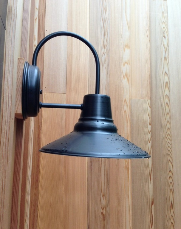 Barn Wall Sconces Add Finishing Touch To Modern Farmhouse