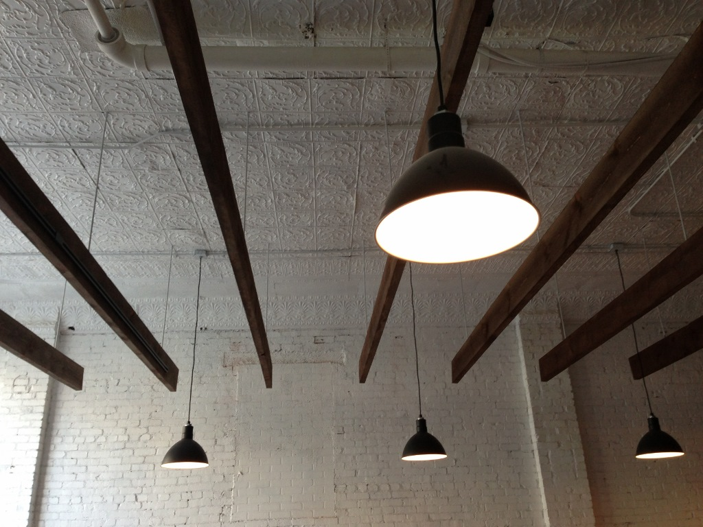 Deep Bowl Pendants Add Feel To Clic Barber