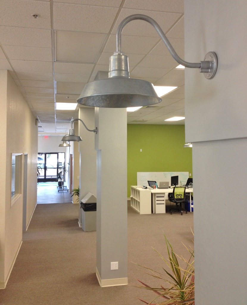 industrial look lighting. Need Something With A Little More Industrial Edge? Check Out How This California Company Created Soothing Environment Color But Added Modern Look Lighting D