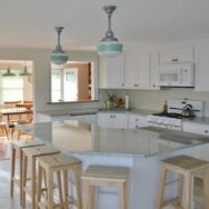 Featured Customer | Jadite Pendants Bring Fresh Look to Post-Sandy Renovations