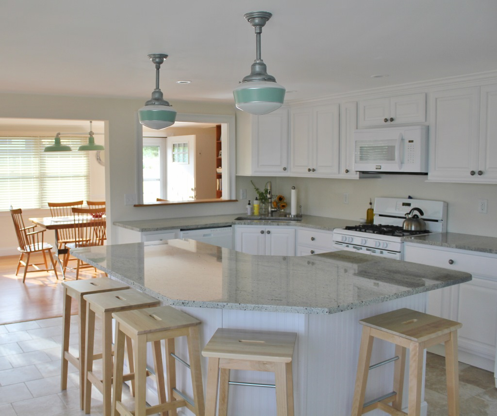 Jadite Pendants Bring Fresh Look to Post-Sandy Renovations ...