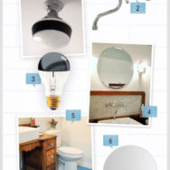 Style Me Sunday: DIY Eclectic Bathroom